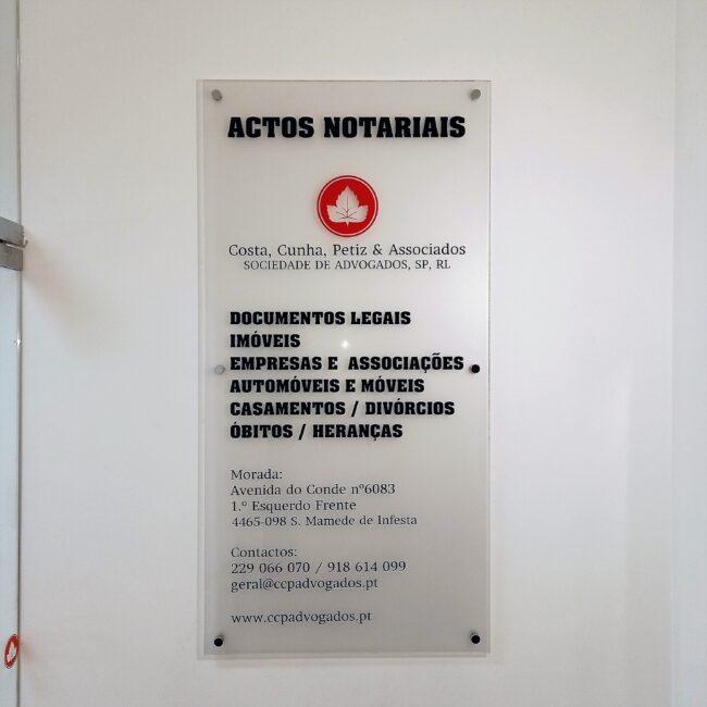 ACTOS NOTARIAIS